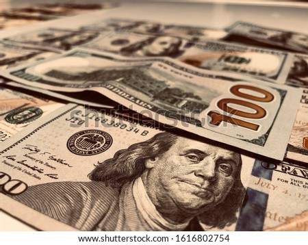 All About The Benjamins - Wealth, Money, Cash Concept #1616802754