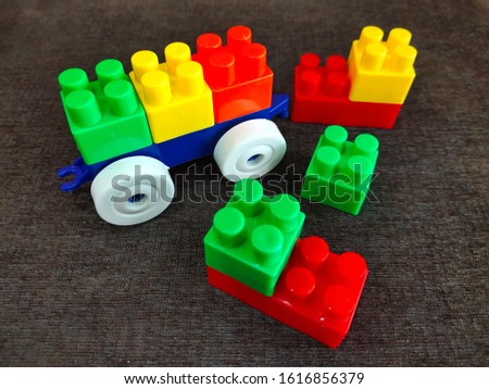 Building block toy Plaything colorful #1616856379