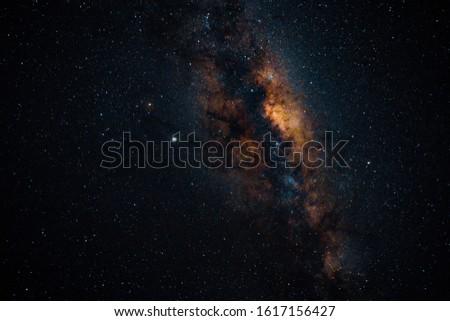 Milky Way galaxy stars night sky