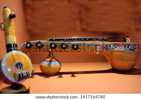 Wooden music instruments of India