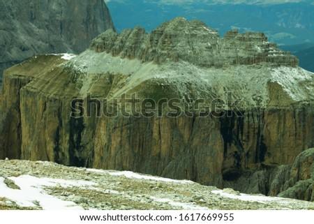 Dolomites  landscape Italy Alps winter #1617669955
