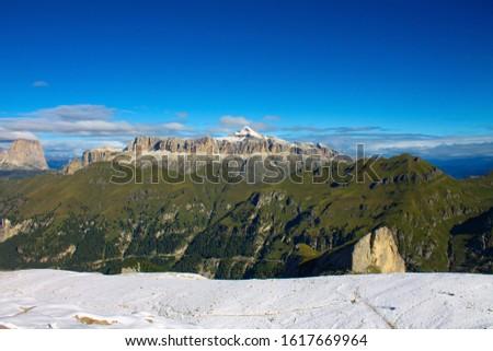 Dolomites  landscape Italy Alps winter #1617669964