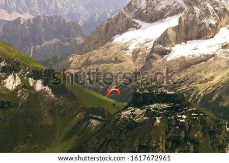 mountain landscape in the italian alps #1617672961