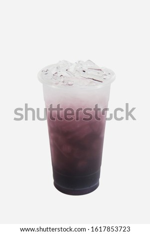 Colourful Italian sodas with no background #1617853723