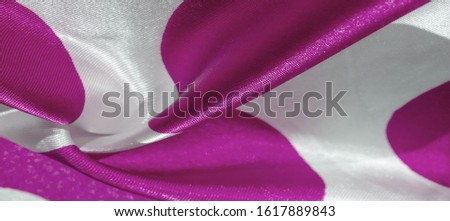 Texture, background, pattern, postcard, silk fabric, red cerise pink white ovals, your projects will not go unnoticed with this fabric by buying this fabric you will be the best #1617889843