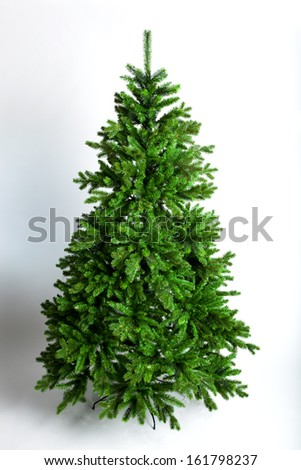 Christmas tree on a white background #161798237
