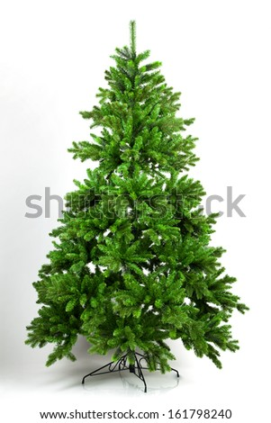 Christmas tree on a white background #161798240
