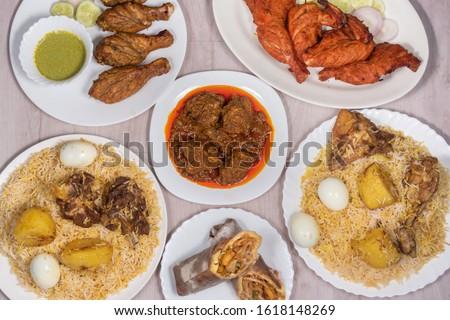 Biryani rice dish. Beautiful Indian rice dish #1618148269