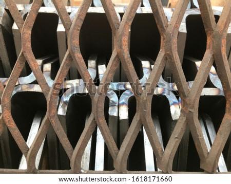 Steel grate, steel Sheet, steel support, steel plate #1618171660
