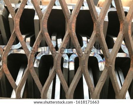 Steel grate, steel Sheet, steel support, steel plate #1618171663