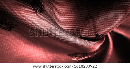 texture, background, pattern, pattern, chocolate, silk fabric, red, sienna, tangelo small pattern, pattern, which is a combination of lines, colors, shadows. #1618233922