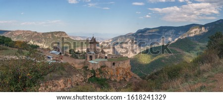 Armenia. Tatev Monastery against the backdrop of a majestic landscape. #1618241329