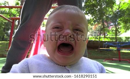 Baby burst out crying infant cries #1618290151