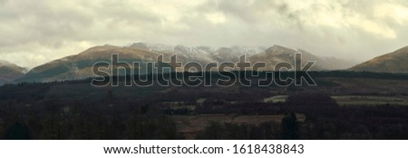 Landscape view of the Highlands, Scotland #1618438843