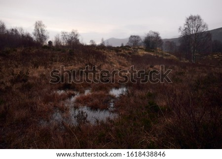 Landscape view of the Highlands, Scotland #1618438846
