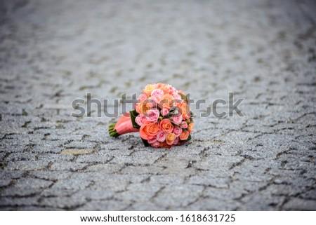 Wedding bouquet. Bouquet of flowers. #1618631725