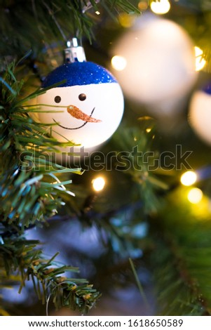 Christmas tree hanging decorations baubles #1618650589
