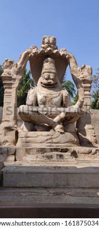 UgraNarsimha Hampi India World UNESCO Heritage Site #1618750348