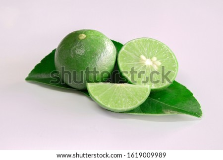 Lime and part had essential oil comes from Citrus aurantifolia by steam distillation the lemon peel. It has a sharp, citrus peel smell and is pale yellow to light olive in color. #1619009989