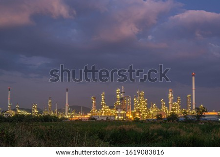 Refinery and oil storage tank, natural gas industry, petrochemical industry #1619083816