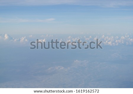 Beautiful cloudscape captured from the plane #1619162572