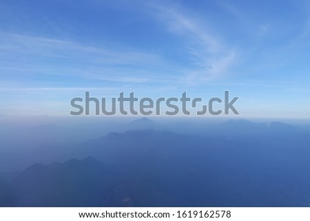 Beautiful cloudscape captured from the plane #1619162578