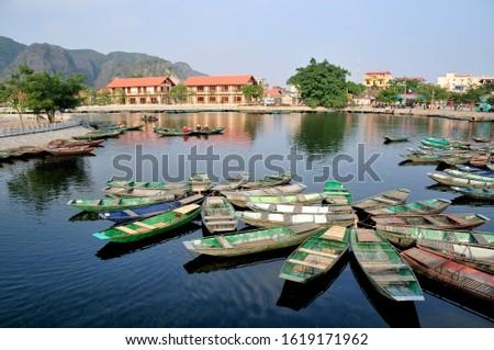Tam Coc region near Ninh Binh, dry Halong Bay, Vietnam, Southeast Asia, Asia #1619171962