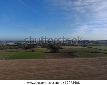 Wantage - aerial view  aerial drone photography #1619293408