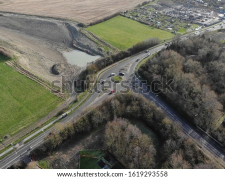 Wantage - aerial view  aerial drone photography #1619293558