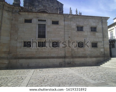 Braga place with monuments and details #1619331892