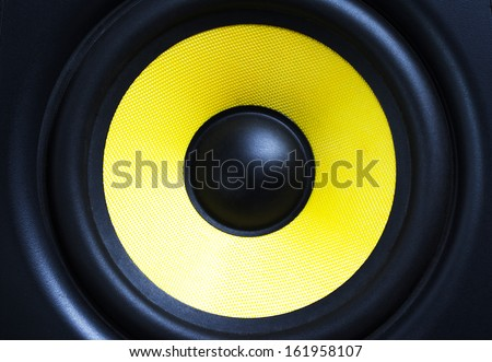 loud speaker close up #161958107