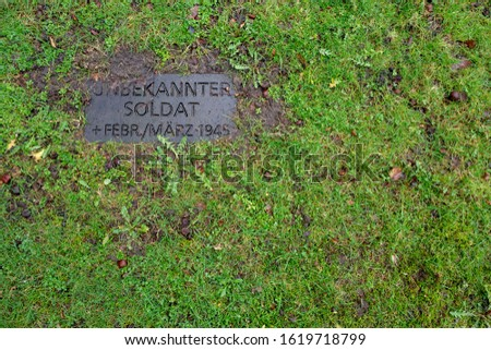 Grave of the unknown German soldier #1619718799