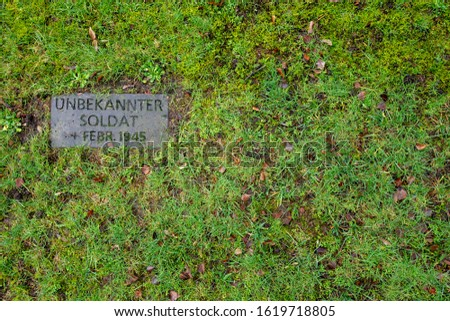 Grave of the unknown German soldier #1619718805