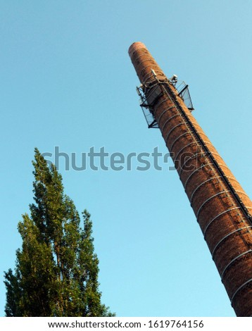 Factory vent or factory chimney #1619764156
