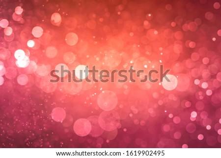 Abstract Pink bokeh defocus glitter blur background. #1619902495