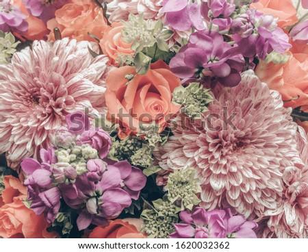 Natural floral bouquet. Floral background. #1620032362