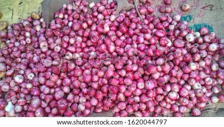 red onion, onion, Fresh onions, Onions in market #1620044797