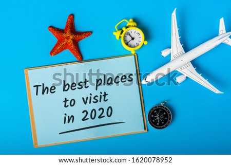 The best places to visit in 2020. Travel the world concept, choice of leisure, destinations and world attractions #1620078952
