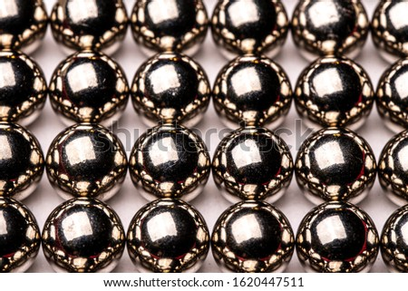 Abstract Metal Reflected Chrome Spheres #1620447511