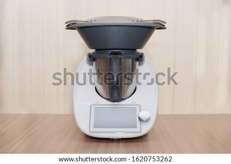 food processor, kitchen robot, modern, with technology, with an access to steam cooking #1620753262