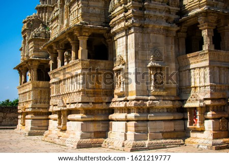 The Chittor Fort or Chittorgarh is one of the largest forts in India #1621219777