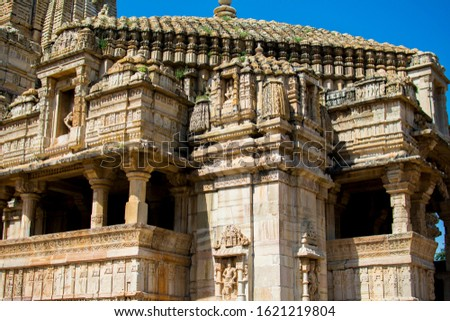 The Chittor Fort or Chittorgarh is one of the largest forts in India #1621219804