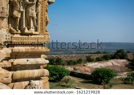 The Chittor Fort or Chittorgarh is one of the largest forts in India #1621219828