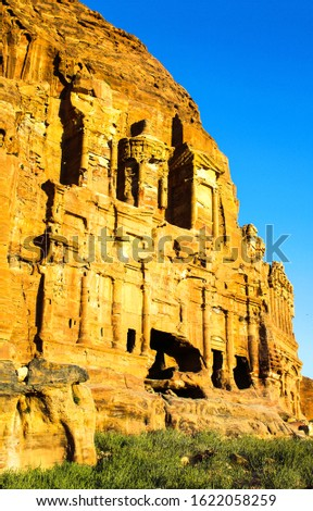 Ancient city of Petra in Jordan #1622058259