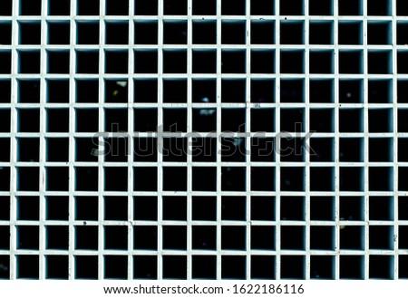 Old metal grill. Metal floor. Background from metal. #1622186116