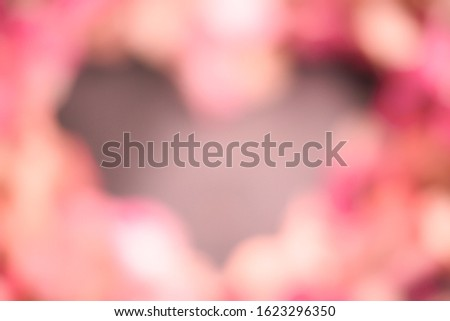 Blurred background with soft, soft colors. This is a photo taken from flowers of nature. #1623296350