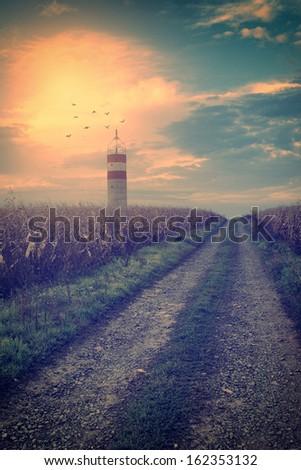 Vintage photo of lighthouse #162353132