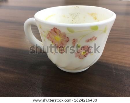 broken tea cup empty cup cofee cup #1624216438