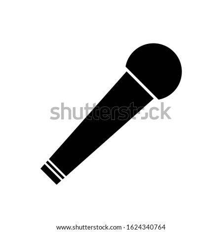 Microphone Icon , audio, vocal musical instrument