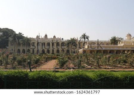 Mysore palace. Indian architecture. Best place to visit in south India.  #1624361797